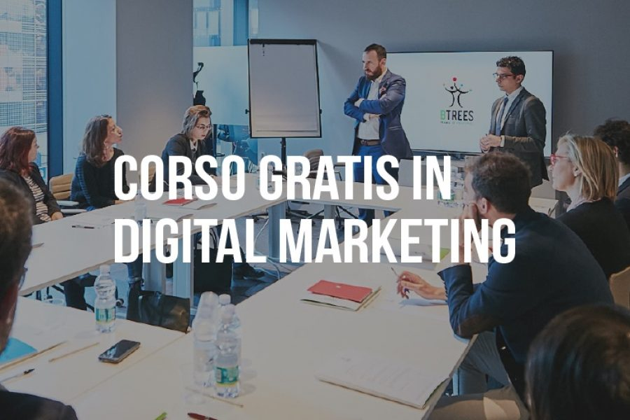 Corso GRATIS in Digital Marketing da 300 ore