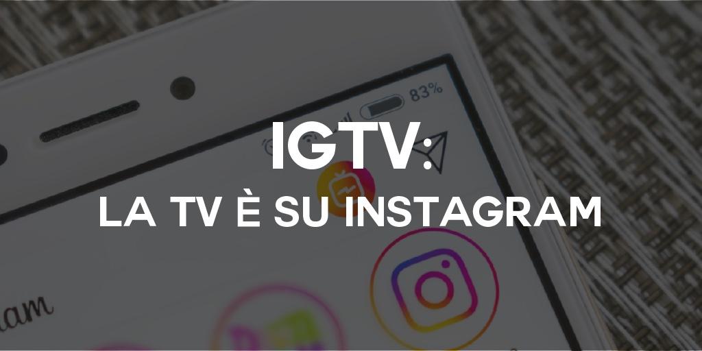La TV ora si guarda su Instagram